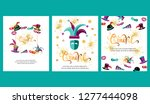 vector illustration with... | Shutterstock .eps vector #1277444098