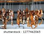 Traditional Smoked Food  Pig...