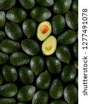 Fresh Tropical Avocado Fruit...