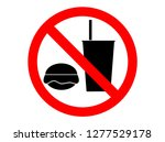 icons or symbols do not allow... | Shutterstock .eps vector #1277529178