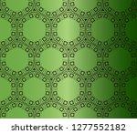 stylish arabic morrocan pattern....   Shutterstock .eps vector #1277552182