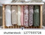 women's clothing delicate... | Shutterstock . vector #1277555728