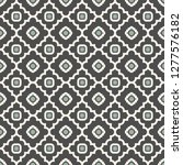 seamless pattern with retro... | Shutterstock .eps vector #1277576182