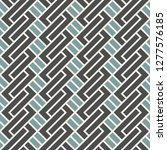 seamless pattern with simple... | Shutterstock .eps vector #1277576185
