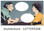 stock illustration. man and...   Shutterstock .eps vector #1277595208