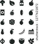 solid black vector icon set  ... | Shutterstock .eps vector #1277621872