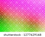 light pink  green vector... | Shutterstock .eps vector #1277629168