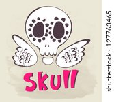 funny cartoon vector...   Shutterstock .eps vector #127763465