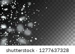 realistic snow background.... | Shutterstock .eps vector #1277637328