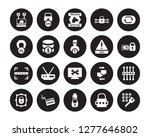 20 vector icon set  ... | Shutterstock .eps vector #1277646802
