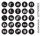 25 vector icon set  ... | Shutterstock .eps vector #1277650822