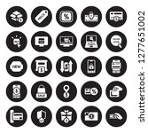 25 vector icon set   product ... | Shutterstock .eps vector #1277651002