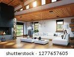 Modern Chalet Interior Design....