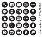 25 vector icon set   cursor ... | Shutterstock .eps vector #1277660008