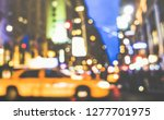 New York City Abstract Rush...