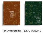 modern cover design template... | Shutterstock .eps vector #1277705242