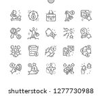 entrepreneur well crafted pixel ... | Shutterstock .eps vector #1277730988