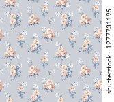 small flower design   Shutterstock . vector #1277731195