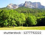 mountain landscape in ordesa y... | Shutterstock . vector #1277752222