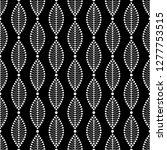 seamless black and white...   Shutterstock .eps vector #1277753515