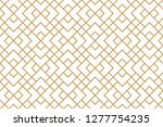 the geometric pattern with... | Shutterstock .eps vector #1277754235