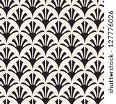 vector seamless pattern. modern ... | Shutterstock .eps vector #127776026