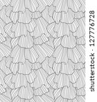 doodle abstract frills seamless ...   Shutterstock . vector #127776728
