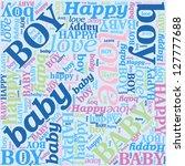 seamless background for newborn ...   Shutterstock .eps vector #127777688
