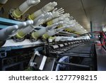 rubber gloves production line    Shutterstock . vector #1277798215