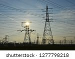 the power supply facilities of...   Shutterstock . vector #1277798218