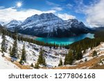 Winter Day Peyto Lake Peyto - Fine Art prints