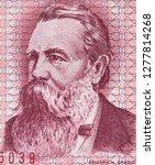 friedrich engels on east german ...   Shutterstock . vector #1277814268