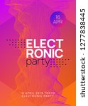 trance event. dynamic gradient... | Shutterstock .eps vector #1277838445