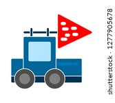 truck toy icon  truck toy... | Shutterstock .eps vector #1277905678