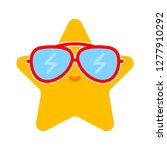 summer star icon   summer star... | Shutterstock .eps vector #1277910292