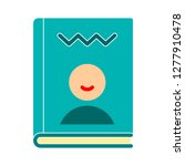 reader icon  reader isolate ... | Shutterstock .eps vector #1277910478