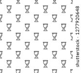 cup of wine pattern seamless... | Shutterstock . vector #1277920648
