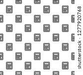 School Calculator Pattern...