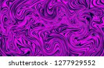 abstract vector mixed wavy... | Shutterstock .eps vector #1277929552