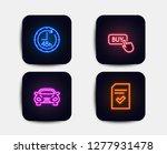 neon glow lights. set of buy...