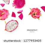 creative layout made of... | Shutterstock . vector #1277953405