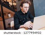 creative man designer working... | Shutterstock . vector #1277954932