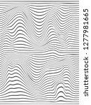 vertical stripes.blend lines...   Shutterstock . vector #1277981665