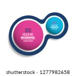 circle  round chart  scheme ... | Shutterstock .eps vector #1277982658