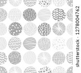 doodle background. seamless... | Shutterstock .eps vector #1278004762