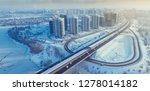 aerial view of kiev city.... | Shutterstock . vector #1278014182