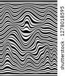 vetrical stripes made of black...   Shutterstock . vector #1278018595