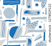 vector seamless pattern. torn...   Shutterstock .eps vector #1278029122
