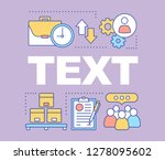marketing word concepts banner. ...