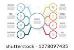 business infographics.... | Shutterstock .eps vector #1278097435